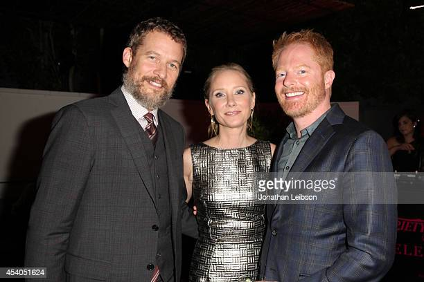 Actors James Tupper Anne Heche and Jesse Tyler Ferguson attend Variety and Women in Film Emmy Nominee Celebration powered by Samsung Galaxy on August...