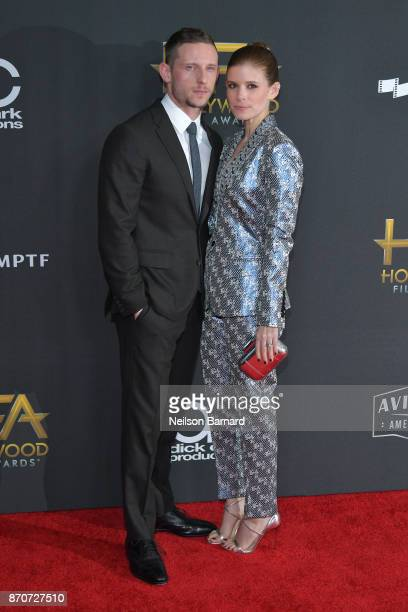 Actors Jamie Bell and Kate Mara attend the 21st Annual Hollywood Film Awards at The Beverly Hilton Hotel on November 5 2017 in Beverly Hills...
