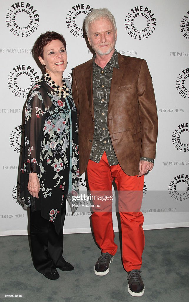 Actors Jane Elliot and <a gi-track='captionPersonalityLinkClicked' href=/galleries/search?phrase=Anthony+Geary&family=editorial&specificpeople=663634 ng-click='$event.stopPropagation()'>Anthony Geary</a> arrive at The Paley Center For Media Presents 'General Hospital: Celebrating 50 Years And Looking Forward' at The Paley Center for Media on April 12, 2013 in Beverly Hills, California.