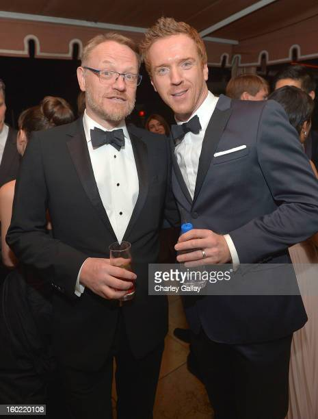 Actors Jared Harris and Damian Lewis attend The Weinstein Company's SAG Awards After Party Presented By FIJI Water at Sunset Tower on January 27 2013...