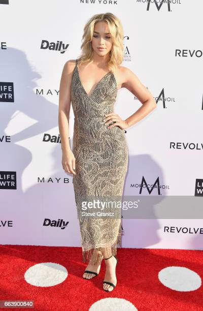 Actors Jasmine Sanders attends the Daily Front Row's 3rd Annual Fashion Los Angeles Awards at Sunset Tower Hotel on April 2 2017 in West Hollywood...