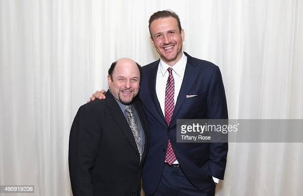 Actors Jason Alexander and Jason Segel attend Friends Of The Israel Defense Forces Western Region Gala at The Beverly Hilton Hotel on November 5 2015...