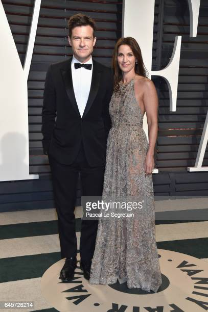 Actors Jason Bateman and Amanda Anka attend the 2017 Vanity Fair Oscar Party hosted by Graydon Carter at Wallis Annenberg Center for the Performing...