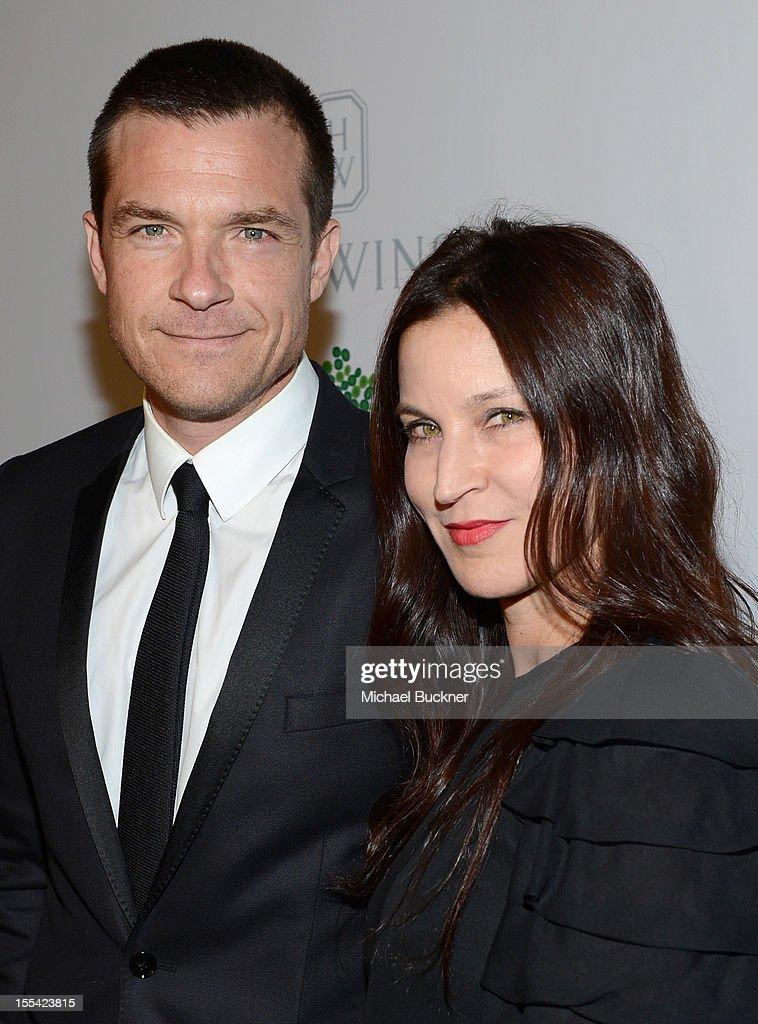 Actors <a gi-track='captionPersonalityLinkClicked' href=/galleries/search?phrase=Jason+Bateman&family=editorial&specificpeople=204774 ng-click='$event.stopPropagation()'>Jason Bateman</a> (L) and <a gi-track='captionPersonalityLinkClicked' href=/galleries/search?phrase=Amanda+Anka&family=editorial&specificpeople=2465465 ng-click='$event.stopPropagation()'>Amanda Anka</a> attend the First Annual Baby2Baby Gala event presented by Harry Winston honoring Jessica Alba at Book Bindery on November 3, 2012 in Culver City, California.