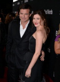Actors Jason Bateman and Kathryn Hahn arrive at the premiere of Focus Features' 'Bad Words' at ArcLight Cinemas Cinerama Dome on March 5 2014 in...