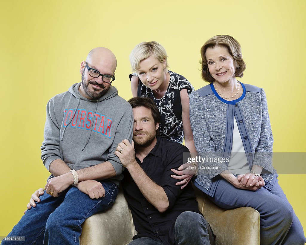 Actors <a gi-track='captionPersonalityLinkClicked' href=/galleries/search?phrase=Jason+Bateman&family=editorial&specificpeople=204774 ng-click='$event.stopPropagation()'>Jason Bateman</a>, Portia De Rossi, <a gi-track='captionPersonalityLinkClicked' href=/galleries/search?phrase=David+Cross+-+American+Actor&family=editorial&specificpeople=214785 ng-click='$event.stopPropagation()'>David Cross</a>, and <a gi-track='captionPersonalityLinkClicked' href=/galleries/search?phrase=Jessica+Walter&family=editorial&specificpeople=220269 ng-click='$event.stopPropagation()'>Jessica Walter</a> are photographed for Los Angeles Times on May 2, 2013 in Beverly Hills, California. PUBLISHED IMAGE.