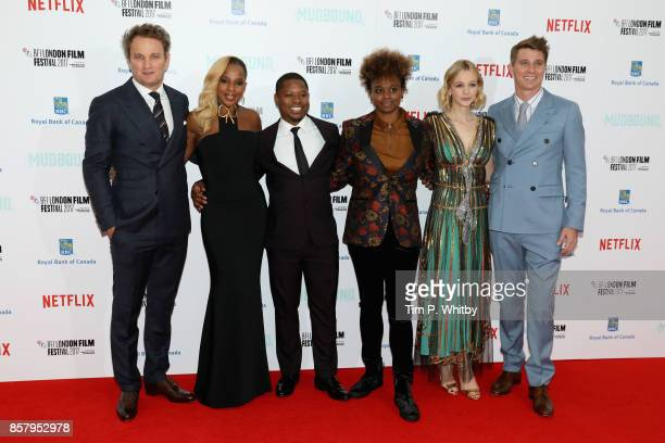 Actors Jason Clarke Mary J Blige Jason Mitchell director Dee Rees actors Carey Mulligan and Garrett Hedlund attend the Royal Bank of Canada Gala...