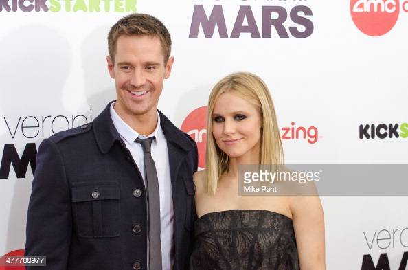 Actors Jason Dohring and Kristen Bell attend the 'Veronica Mars' screening at AMC Loews Lincoln Square on March 10 2014 in New York City