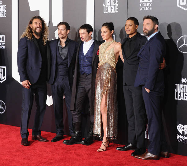 "Premiere Of Warner Bros. Pictures' ""Justice League"