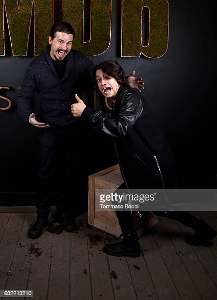 Actors Jason Ritter and Rio Mangini of 'Bitch' attend The IMDb Studio featuring the Filmmaker Discovery Lounge presented by Amazon Video Direct Day...
