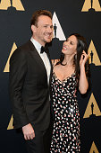 Actors Jason Segel and Olivia Munn arrive at the Academy of Motion Picture Arts and Sciences' Scientific and Technical Awards ceremony at the Beverly...