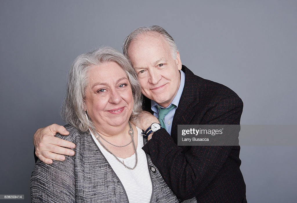 Actors Jayne Houdyshell (L) and Reed Birneyand pose for a portrait at the 2016 Tony Awards Meet The Nominees Press Reception on May 4, 2016 in New York City.