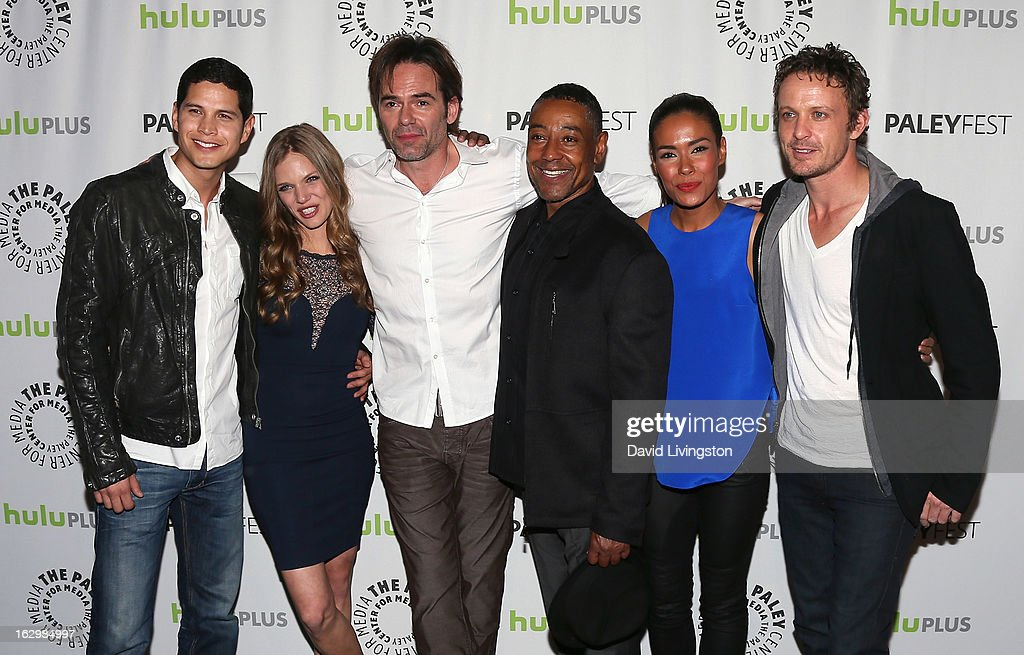 Actors JD Pardo Tracy Spiridakos Billy Burke Giancarlo Esposito Daniella Alonso and David Lyons attend The Paley Center for Media's PaleyFest 2013...