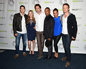Actors JD Pardo Tracy Spiridakos Billy Burke Giancarlo Esposito Daniella Alonso and David Lyons arrive at the 30th Annual PaleyFest The William S...