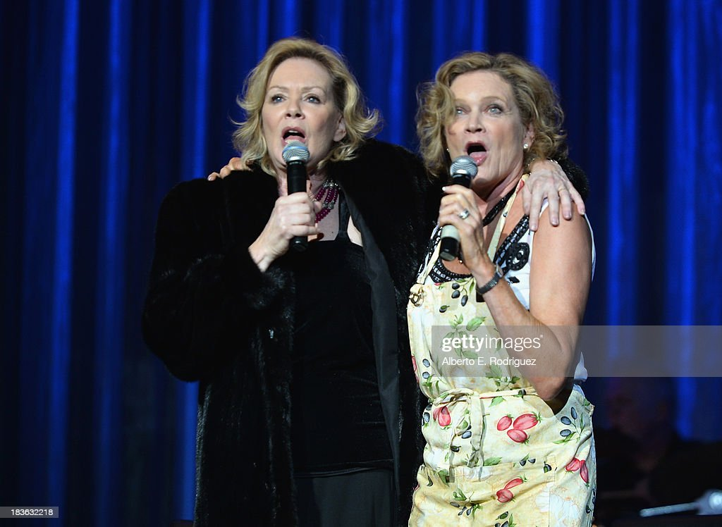 Actors <a gi-track='captionPersonalityLinkClicked' href=/galleries/search?phrase=Jean+Smart&family=editorial&specificpeople=220923 ng-click='$event.stopPropagation()'>Jean Smart</a> and Deborah May attend The National Breast Cancer Coalition Fund presents The 13th Annual Les Girls at the Avalon on October 7, 2013 in Hollywood, California.