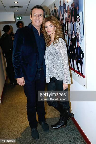 Actors JeanLuc Reichmann and Ingrid Chauvin present the Theater Piece 'Hibernatus' performed at Theatre de la Michodiere during the 'Vivement...