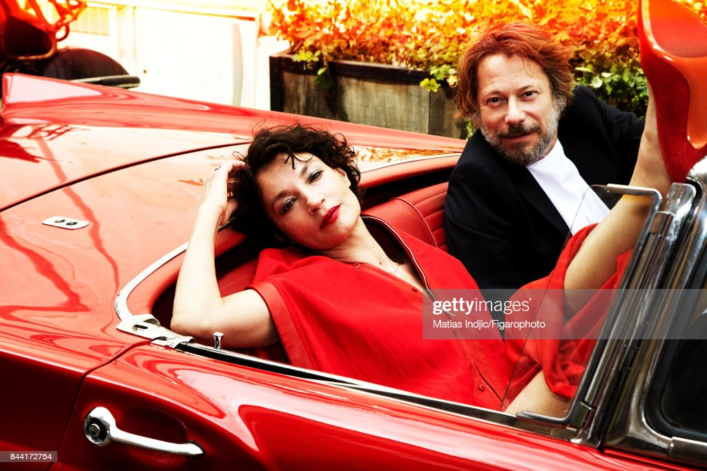 Jeanne Balibar and Mathieu Amalric, Madame Figaro, August 18, 2017