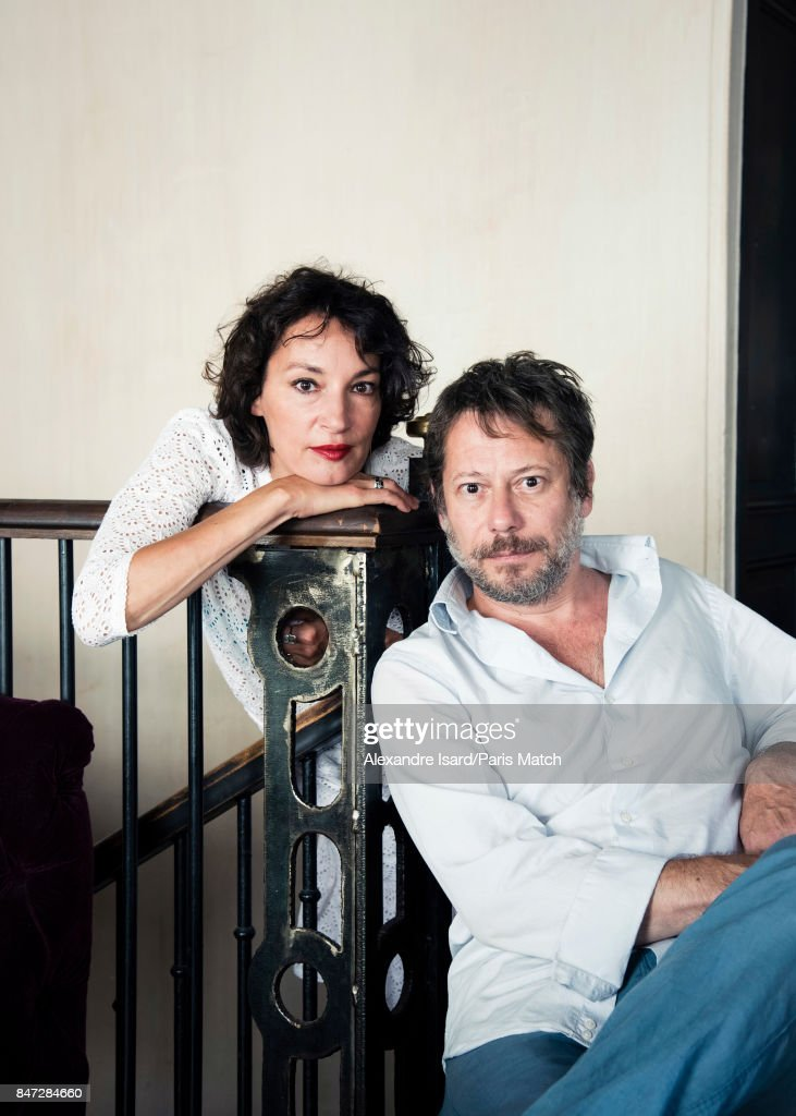 Jeanne Balibar & Mathieu Amalric, Paris Match Issue 3564, September 13, 2017