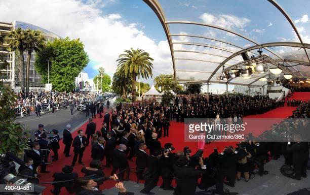 Actors Jeanne Balibar Tim Roth Nicole Kidman director Olivier Dahan actress Paz Vega PierreAnge Le Pogam and screenwriter and Producer Arash Amel...