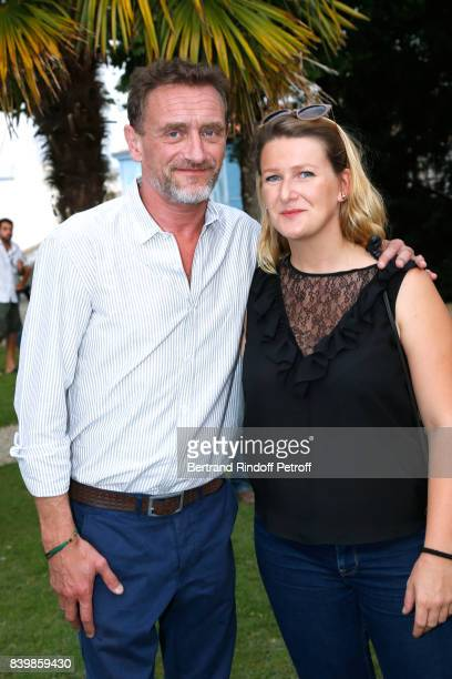 Actors JeanPaul Rouve and Pauline Rineau attend the 10th Angouleme FrenchSpeaking Film Festival Day Five on August 26 2017 in Angouleme France