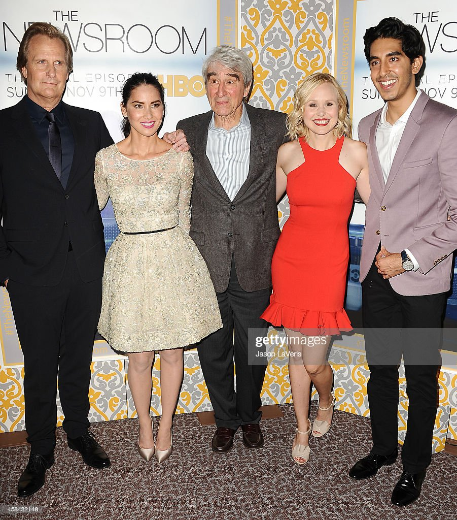 hbos quotthe newsroomquot season 3 premiere getty images