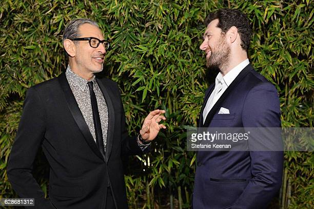 Actors Jeff Goldblum and Billy Eichner attend the 2016 GQ Men of the Year Party at Chateau Marmont on December 8 2016 in Los Angeles California