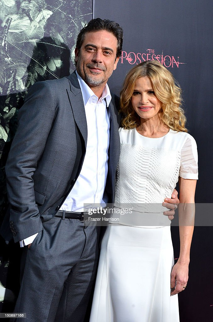 Actors Jeffrey Dean Morgan and Kyra Sedgwick arrives at the Premiere of Lionsgate Films' 'The Possession' at ArcLight Cinemas on August 28, 2012 in Hollywood, California.
