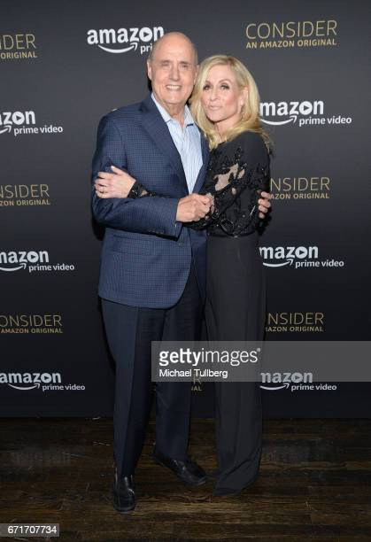 Actors Jeffrey Tambor and Judith Light attend Amazon Prime Video's Emmy FYC event and screening for 'Transparent' at Hollywood Athletic Club on April...