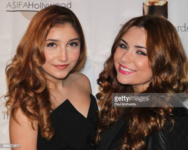 Actors Jennessa Rose and Julianna Rose attend the 41st annual Annie Awards at Royce Hall UCLA on February 1 2014 in Westwood California