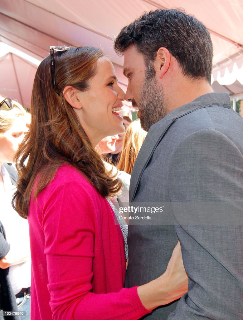 Actors Jennifer Garner and Ben Affleck attend the John Varvatos 10th Annual Stuart House Benefit presented by Chrysler Kids Tent by Hasbro Studios at...