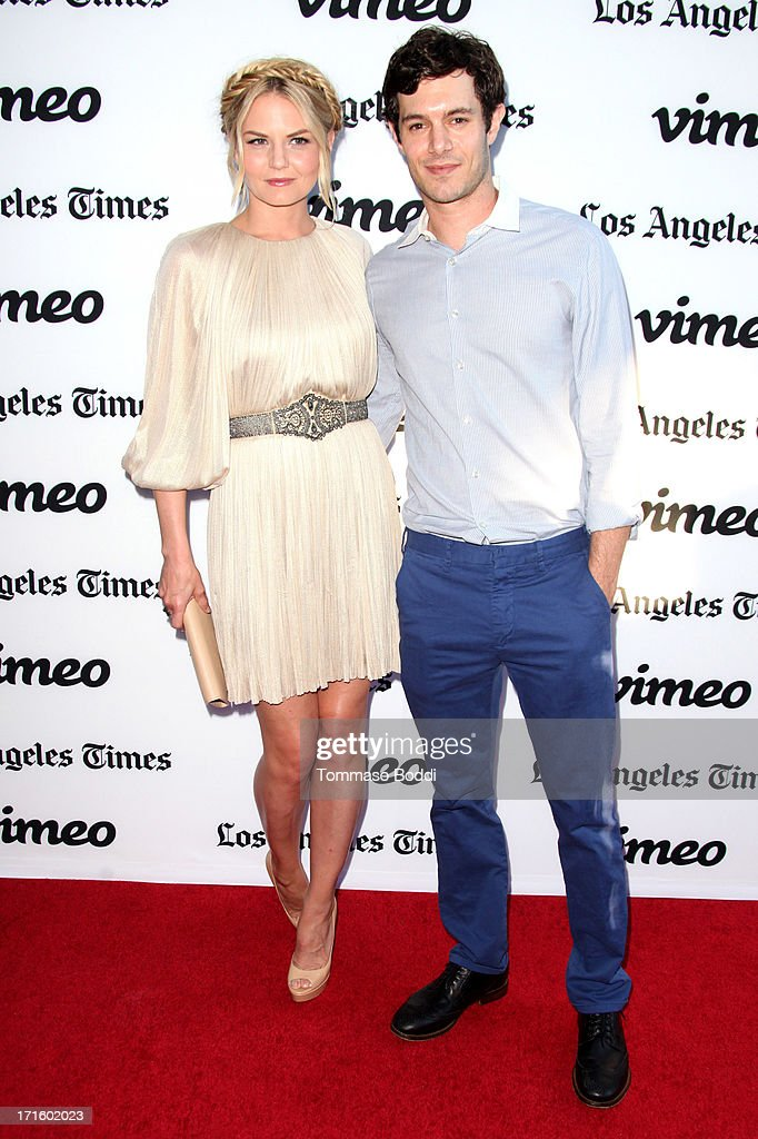 Actors Jennifer Morrison and Adam Brody attend the 'Some Girl' Los Angeles premiere held at Laemmle NoHo 7 on June 26 2013 in North Hollywood...