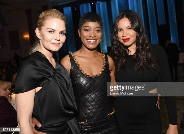 Actors Jennifer Morrison Keke Palmer and Jurnee SmollettBell attend the 26th Annual Beat The Odds Awards hosted by Children's Defense Fund California...