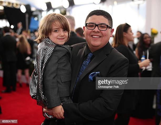 Actors Jeremy Maguire and Rico Rodriguez attend The 23rd Annual Screen Actors Guild Awards at The Shrine Auditorium on January 29 2017 in Los Angeles...