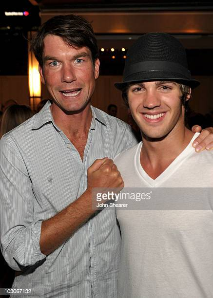 Actors Jerry O'Connell and Steven R McQueen attend the Pirahna 3D 'Too Hot For ComicCon' party sponsored by Real D 3D and Svedka Vodka held at At The...
