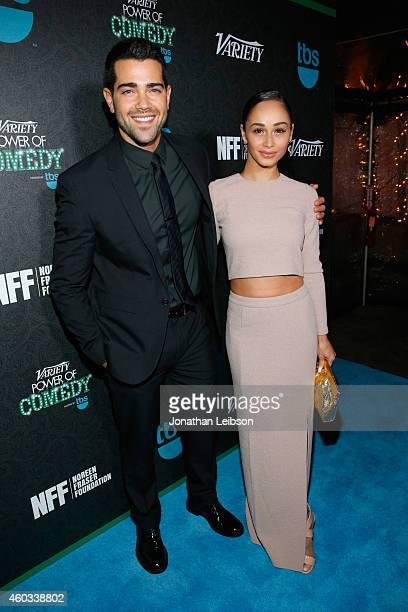 Actors Jesse Metcalfe and Cara Santana attend Variety's 5th annual Power of Comedy presented by TBS benefiting the Noreen Fraser Foundation at The...