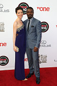 Actors Jessica Oyelowo and David Oyelowo attend the 45th NAACP Image Awards presented by TV One at Pasadena Civic Auditorium on February 22 2014 in...