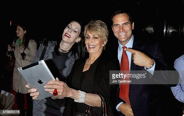 Actors Jill Kargman Joanna Cassidy and Andy Buckley attend the Bravo Presents a special screening of 'Odd Mom Out' after party at Casa Lever on June...