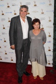 Actors Jim Carter and Imelda Staunton arrive at the 65th Emmy Awards Performers Nominee Reception at Spectra by Wolfgang Puck at the Pacific Design...