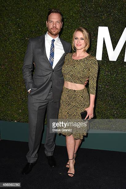 Actors Jim Parrack and Leven Rambin attend Claiborne Swanson Frank's Young Hollywood book launch hosted by Michael Kors at Private Residence on...