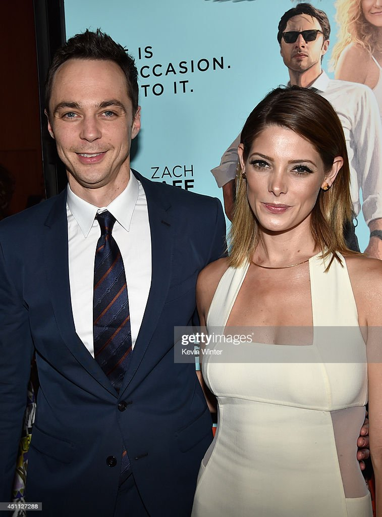Actors <a gi-track='captionPersonalityLinkClicked' href=/galleries/search?phrase=Jim+Parsons&family=editorial&specificpeople=2480791 ng-click='$event.stopPropagation()'>Jim Parsons</a> and <a gi-track='captionPersonalityLinkClicked' href=/galleries/search?phrase=Ashley+Greene&family=editorial&specificpeople=781552 ng-click='$event.stopPropagation()'>Ashley Greene</a> attend Focus Features' 'Wish I Was Here' premiere at DGA Theater on June 23, 2014 in Los Angeles, California.