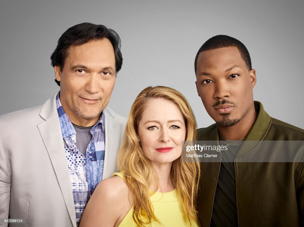 Actors Jimmy Smits, Miranda Otto and Corey Hawkins from '24: Legacy' is photographed for Entertainment Weekly Magazine on July 23, 2016 at Comic Con in the Hard Rock Hotel in San Diego, California.