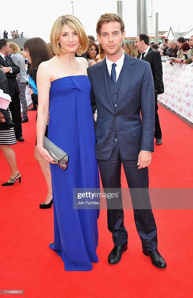 Actors Jodie Whittaker and Luke Treadaway arrive for the L'Oreal National Movie Awards 2011 at Wembley Arena on May 11 2011 in London England
