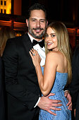 Actors Joe Manganiello and Sofia Vergara attend the 2015 Vanity Fair Oscar Party hosted by Graydon Carter at the Wallis Annenberg Center for the...