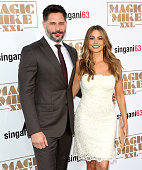 Actors Joe Manganiello and Sofia Vergara attend the premiere of Warner Bros Pictures' 'Magic Mike XXL' at TCL Chinese Theatre IMAX on June 25 2015 in...