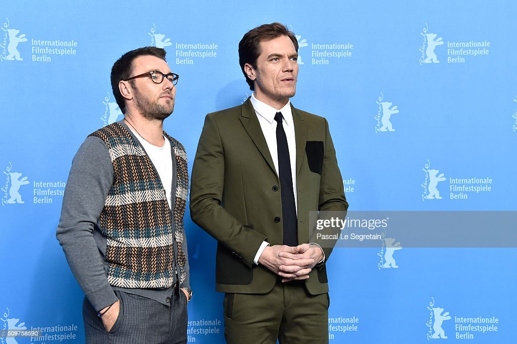 Actors <a gi-track='captionPersonalityLinkClicked' href=/galleries/search?phrase=Joel+Edgerton&family=editorial&specificpeople=211291 ng-click='$event.stopPropagation()'>Joel Edgerton</a> and <a gi-track='captionPersonalityLinkClicked' href=/galleries/search?phrase=Michael+Shannon&family=editorial&specificpeople=660513 ng-click='$event.stopPropagation()'>Michael Shannon</a> attend the 'Midnight Special' photo call during the 66th Berlinale International Film Festival Berlin at Grand Hyatt Hotel on February 12, 2016 in Berlin, Germany.