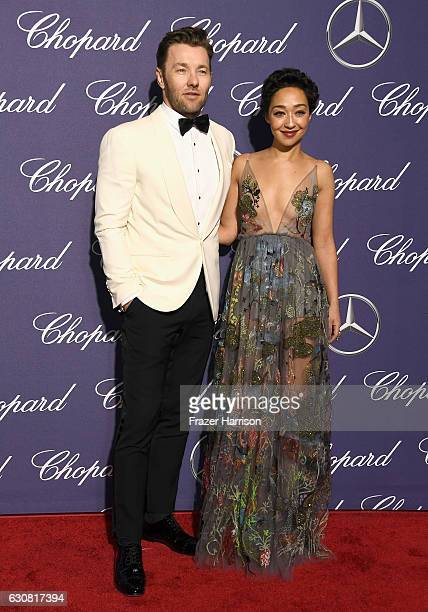 Actors Joel Edgerton and Ruth Negga attend the 28th Annual Palm Springs International Film Festival Film Awards Gala at the Palm Springs Convention...
