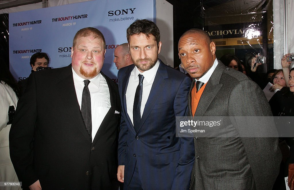 """The Bounty Hunter"" New York Premiere - Outside Arrivals"