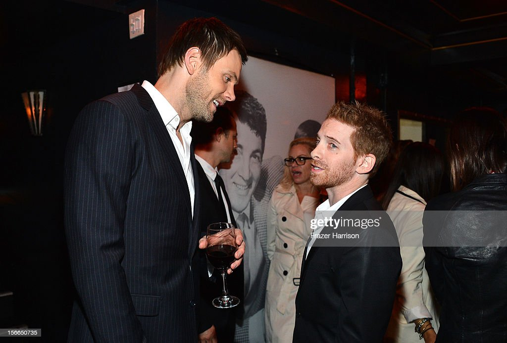 Actors Joel McHale (L) and Seth Green attend Variety's 3rd annual Power of Comedy event presented by Bing benefiting the Noreen Fraser Foundation held at Avalon on November 17, 2012 in Hollywood, California.
