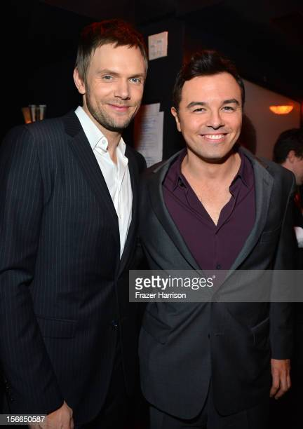 Actors Joel McHale and Seth MacFarlane attends Variety's 3rd annual Power of Comedy event presented by Bing benefiting the Noreen Fraser Foundation...