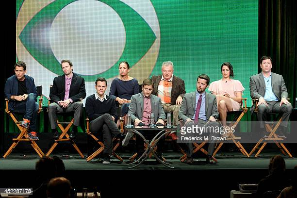 Actors Joey McIntyre Tyler Ritter Laurie Metcalf Jack McGee Kelen Coleman and Jimmy Dunn and producers Will Gluck and Mike Sikowitz and...